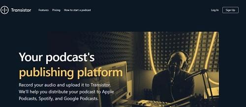 transistor fm podcast hosting