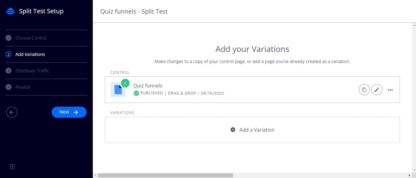 leaadpages split testing