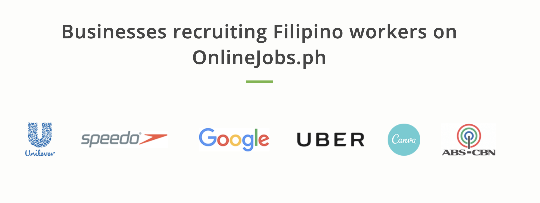 companies working with onlinejobs.ph