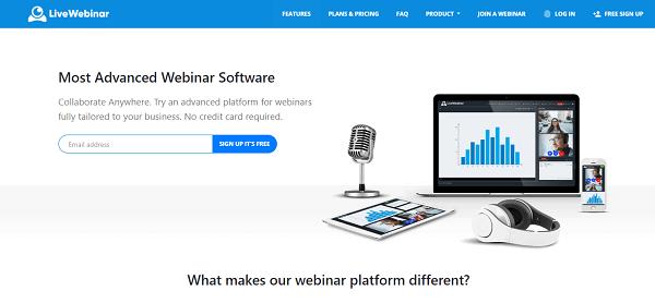 Livewebinar review - homepage image