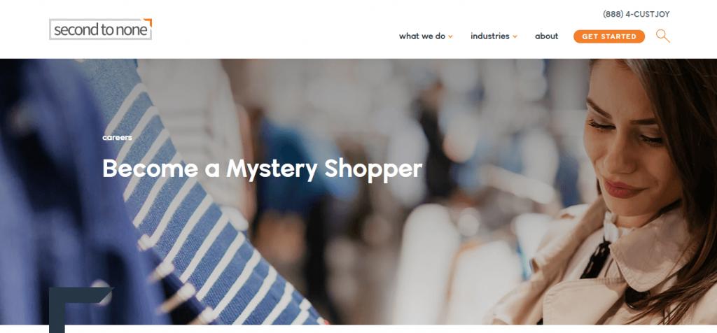 Mystery shopper to make money fast