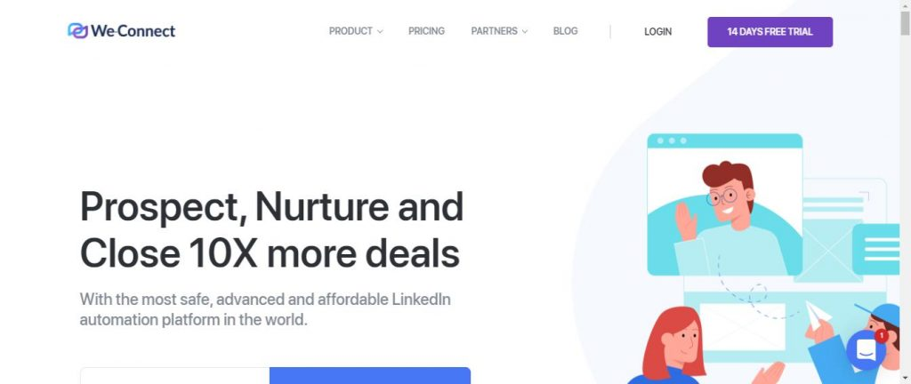 We Connect LinkedIn Automation tool