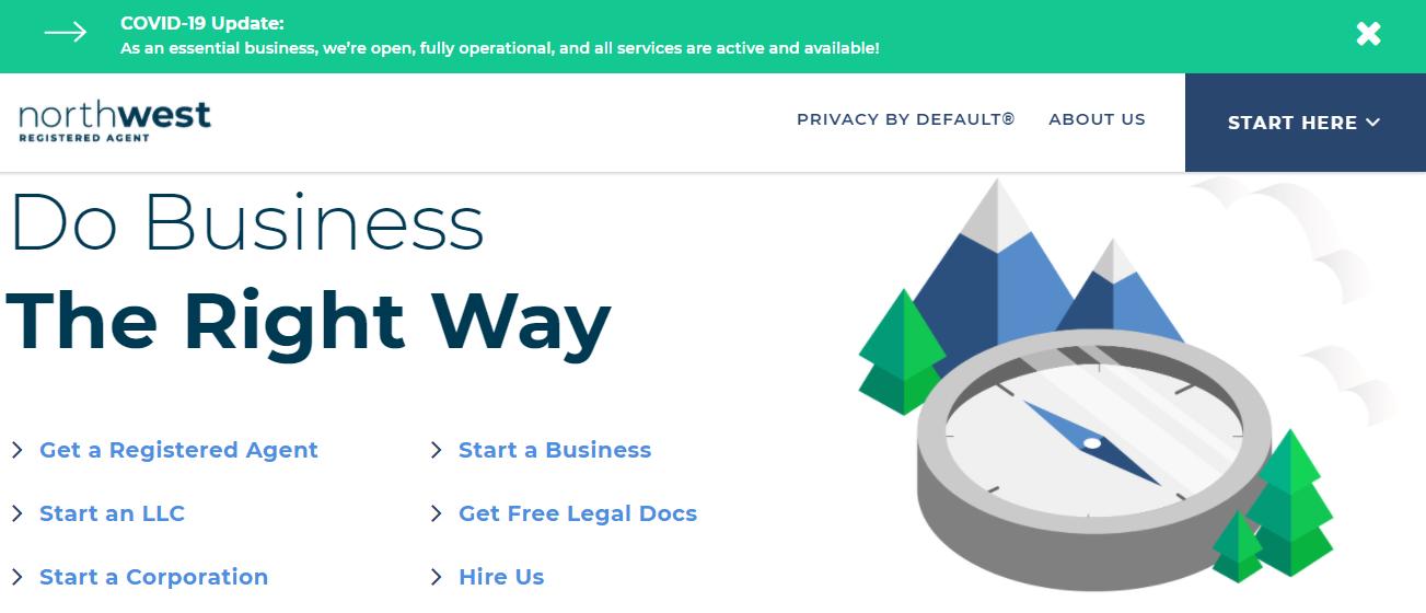 Northwest Registered Agents Best LLC service